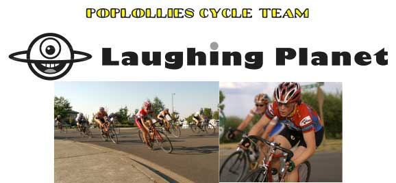 Poplollies Cycling Team/Laughing Planet